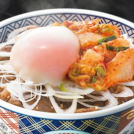 牛カルビスペシャル(キムチ+半熟玉子丼)