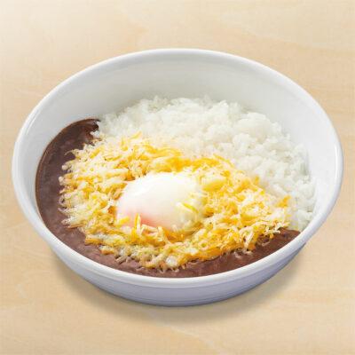 半熟玉子×チーズ黒カレー