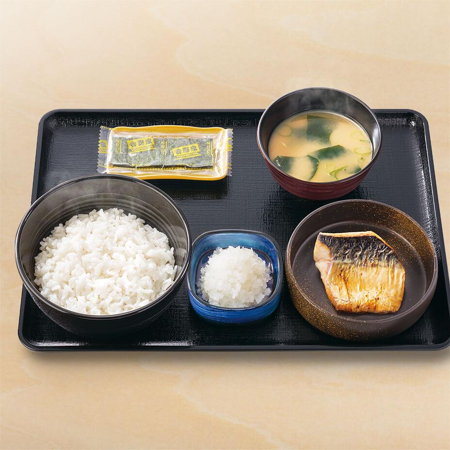 塩鯖󠄀定食
