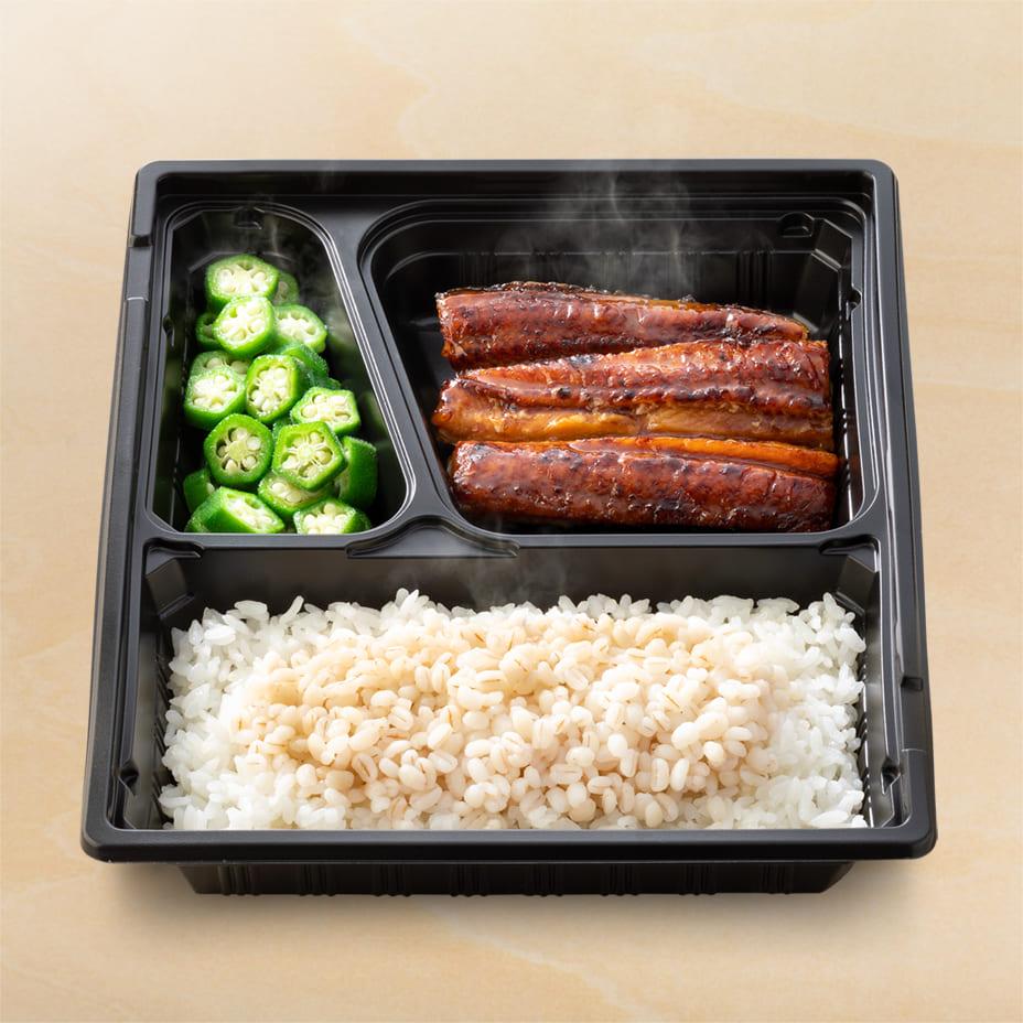 鰻皿麦とろ御膳(テイクアウト)