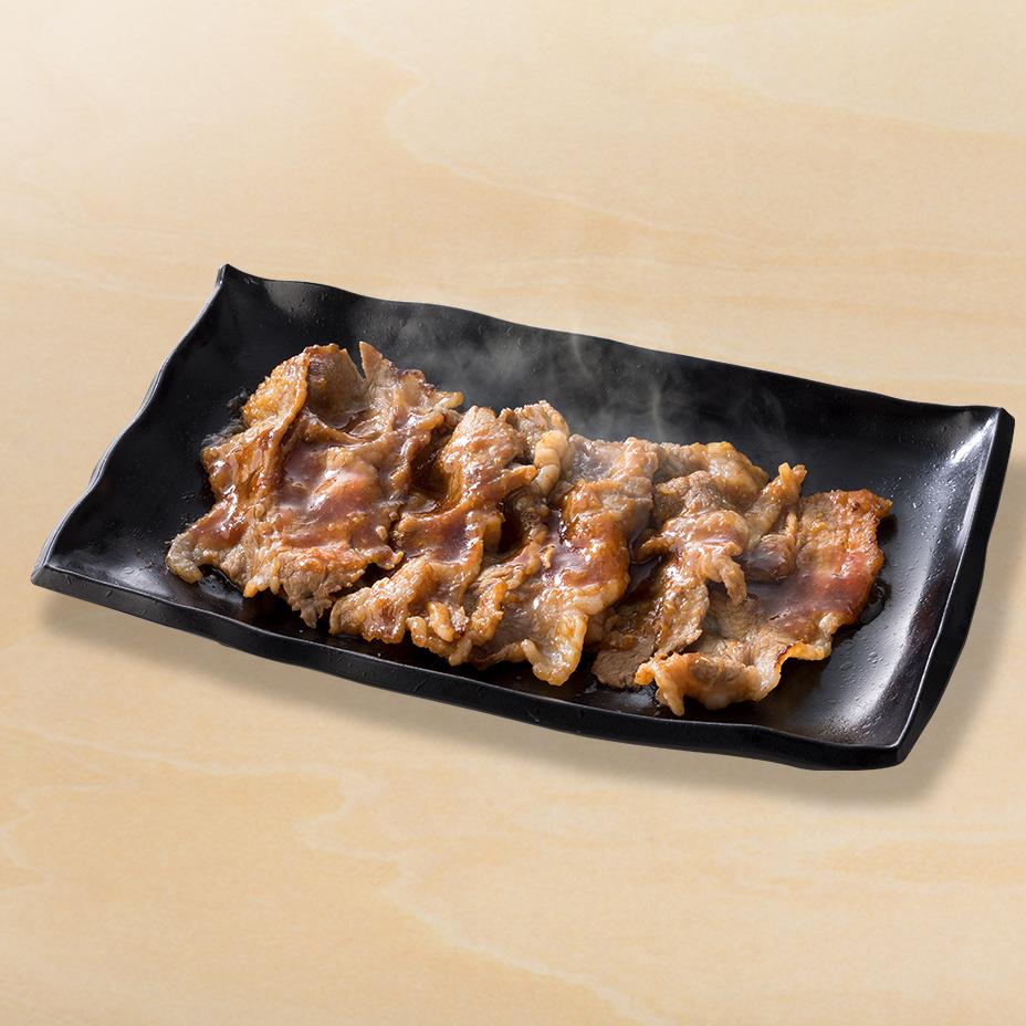 牛カルビ生姜皿