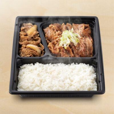 W弁当(牛皿・牛カルビ)