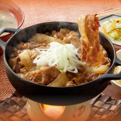 牛の鍋焼き