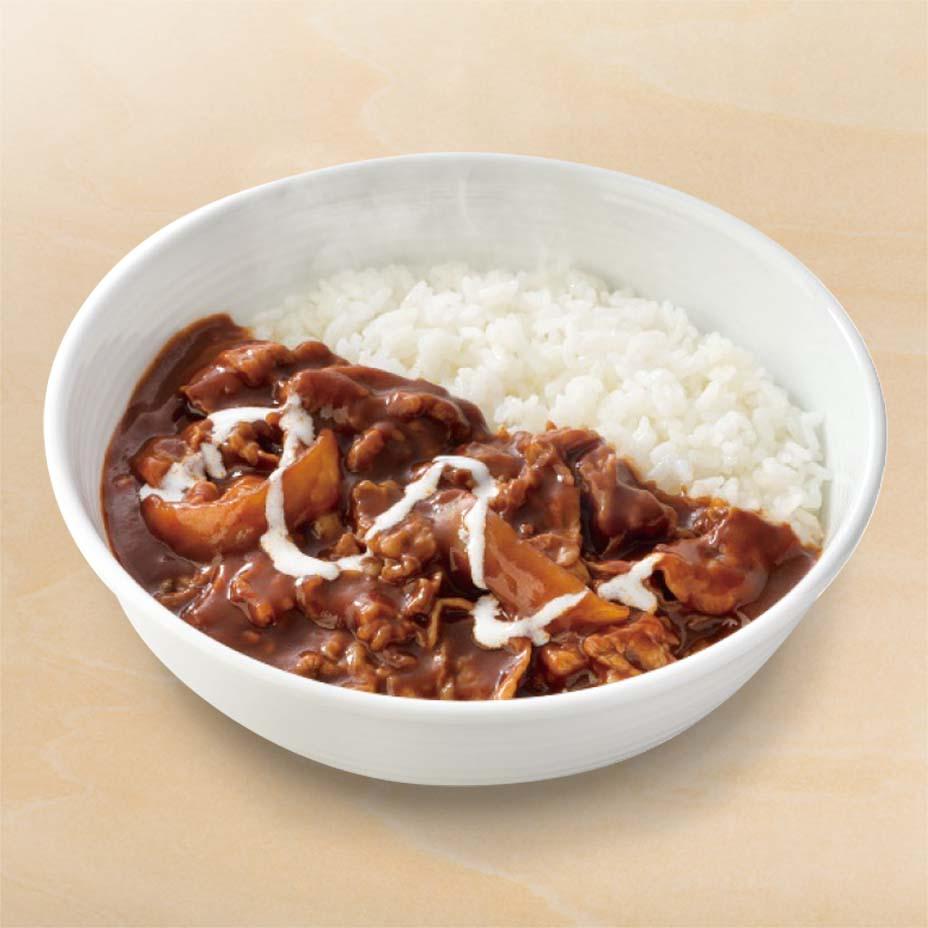 肉だく牛ハヤシライス(テイクアウト)